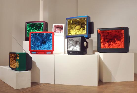 Matteo Peretti Synthetic Brain 2009 installazione